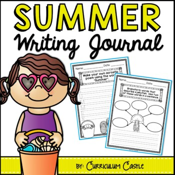 Summer Writing Journal {K-2} NO PREP!
