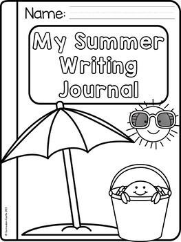Summer Writing Journal {K-2} NO PREP!