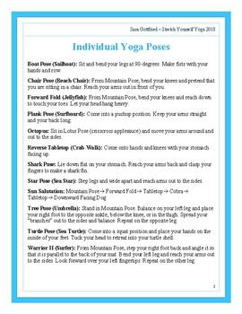 Summer Yoga Sequence
