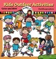 Summer activities  Clip Art Bundle- color and B&W