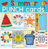summerisalmosthere Summer activities punch cards