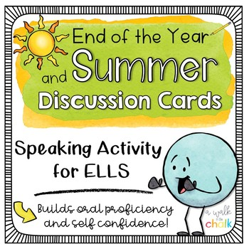Summer and End of the Year Discussion Cards