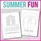 Summer art and craft activity pack: 25 fun printable templ