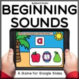 Summer beginning sound review Google Slides activity | Alphabet Letters