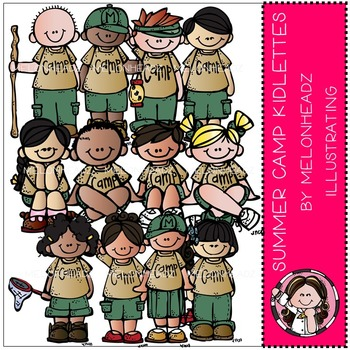 Summer camp kidlettes by Melonheadz COMBO PACK