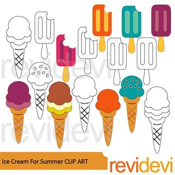 Summer clip art: Ice cream clip art