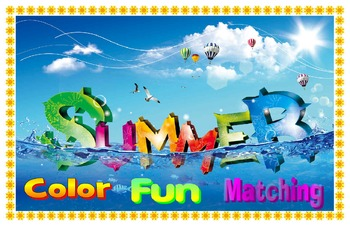 Summer color fun match!!