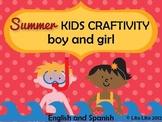 Summer craftivity