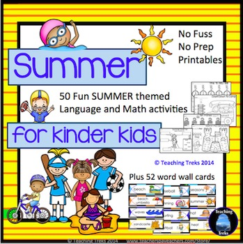 Summer Activities: Summer Math Summer Packet for End of Year