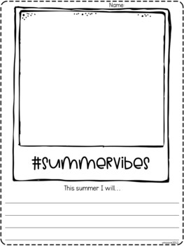 Summer freebie fun mini unit