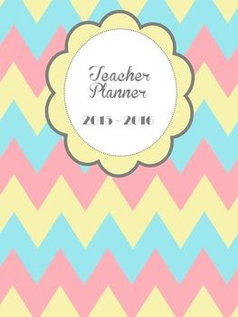 Summer fun teacher planner and binder