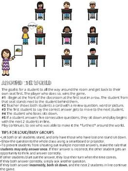 Summer holidays / Les vacances d'été FRENCH Games