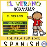 Summer in Spanish Flip Book - El verano