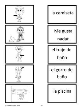 Summer Activities and Games in Spanish - El Verano