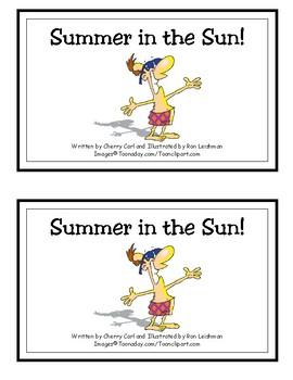 Summer in the Sun Reproducible Reader