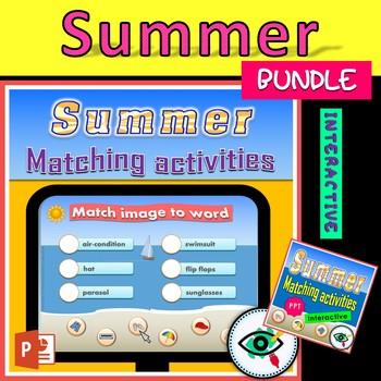 Summer interactive activities bundle