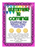 Summer is Coming: Finishing the School Year {K & 1st}
