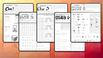 Summer is Here Math Activities CSI for Middle Level Learners