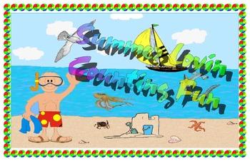 Summer loving counting fun!!