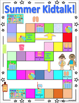 End of the year activities Summer Packet! Games Printables!
