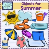 Summer objects Clip art
