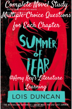 Summer of Fear Novel Study