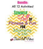 Summer of Fun - All 12 Activities - Homeschool, Preschool, PreK, Kindergarten