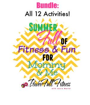 Summer of Fun - All 12 Activities - Homeschool, Preschool, PreK, Kindergarten
