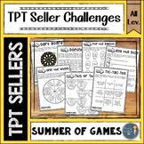 Summer of Games TPT Seller Challenges