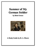 """Summer of My German Soldier"" by Bette Greene: A Study Guide"