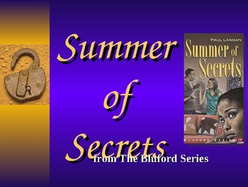 Summer of Secrets Powerpoint