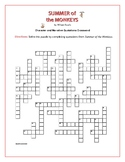 Summer of the Monkeys: Character and Narrative Quotations Crossword