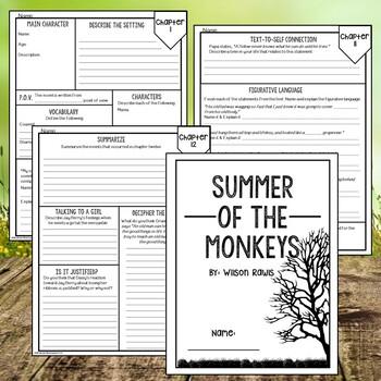 Summer of the Monkeys: Novel Study