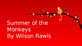 Summer of the Monkeys PowerPoint