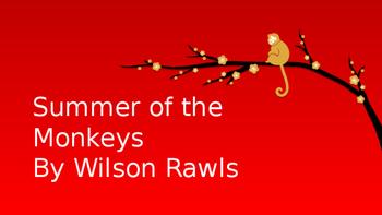 Summer of the Monkeys PowerPoint