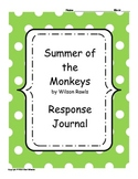 Summer of the Monkeys Response Journal
