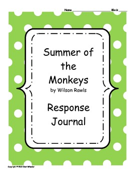 Summer of the Monkeys Response Journal