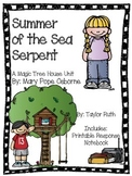 Summer of the Sea Serpent: A Magic Tree House Unit (A Merl