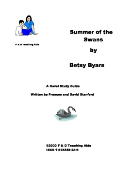 Summer of the Swans Novel Study Guide