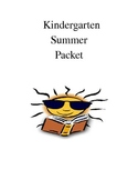 Summer packet - Kindergarten