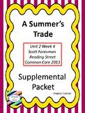 Summer's Trade--Supplemental Packet--Reading Street Grade 5