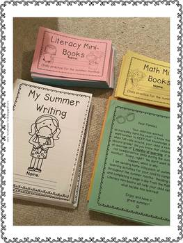 First Grade Summer Review Activities