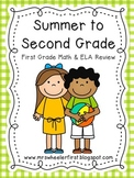 First Grade Summer Review Activities