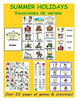 Summer vacation / Vacaciones de verano SPANISH Games
