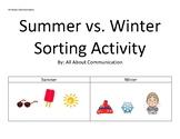 Summer vs. Winter Sorting Activity