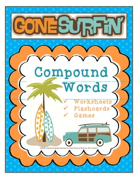 Compound Words Activity Packet: Games, Worksheets, & Flash