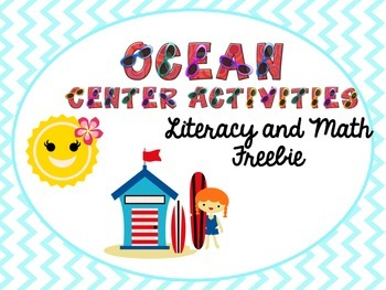 Summer/Ocean Center Packet Freebie