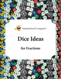 Summerbook Company's Fraction Dice Ideas