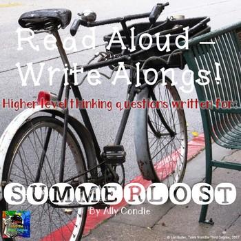 Summerlost Read Aloud Write Along