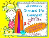 Summer's Around the Corner:  End of Year Scrapbook Activities